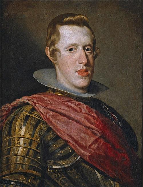 Felipe IV en armadura es uno de los muchos retratos que Velázquez hizo del rey de Espña