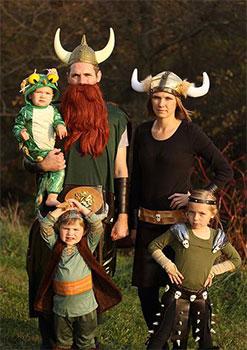 Halloween en familia