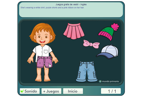 Paso 2: vestir al bebé