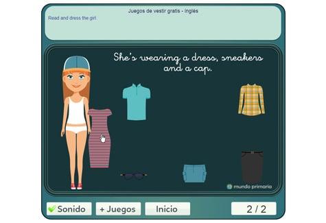 Paso 3: colocar la ropa