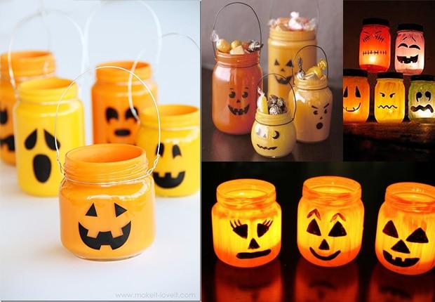 Terrorficas manualidades de Halloween para nios