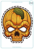 Mascara-Halloween-Calabaza-Calavera