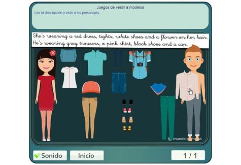 Paso 2: vestir a los modelos