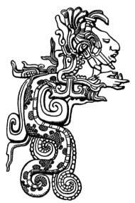 El dios Kukulkán