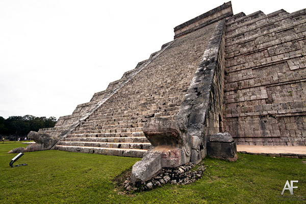 Serpiente pirámide de Kukulkán