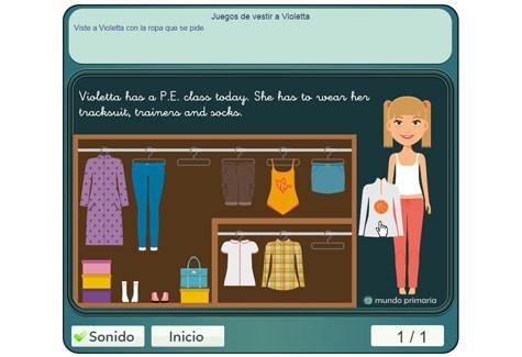 Paso 2: seleccionar la ropa
