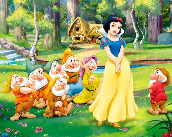 Blancanieves y los siete enanitos Disney