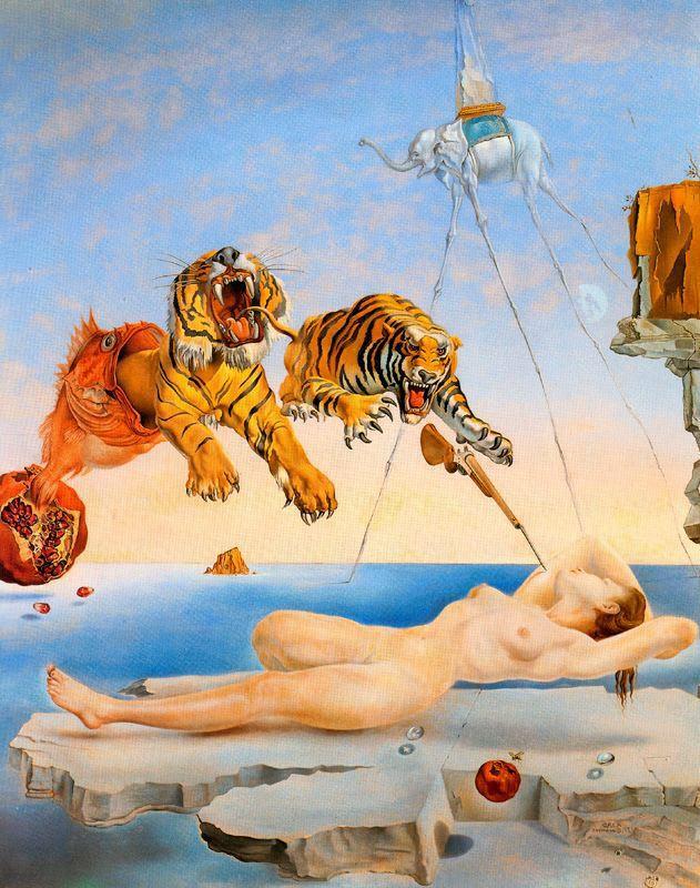 Dalí sueño causado por abeja