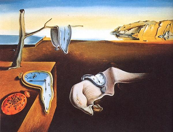 La persistencia de la memoria. Salvador Dalí