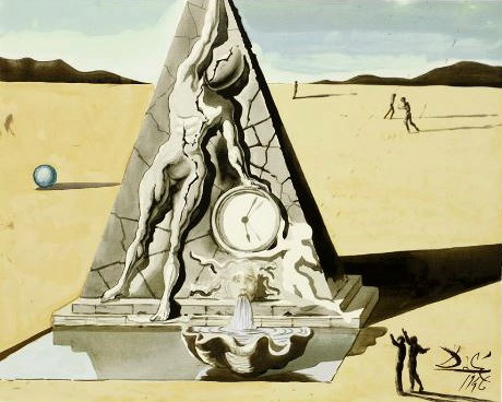 Pirámide Dalí - Destino