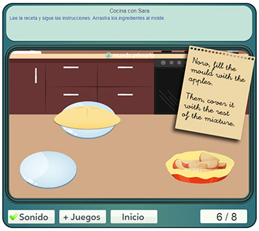Te lo vas a pasar genial con este juego de cocinar con sara - Juegos para aprender a cocinar ...