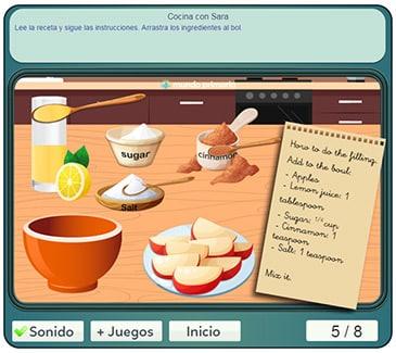 Juegos con sara de cocina trendy juegos de cocina con for Cocina con sara casita de jengibre