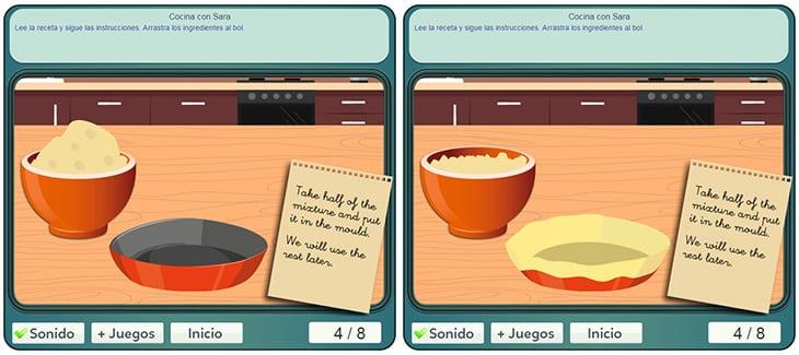 Guegos de sara excellent simple juego cocina con sara - Juegos de cocina con sara paella ...