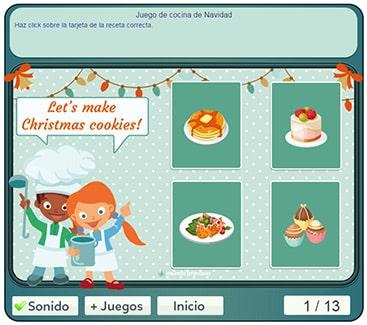 Aprende a hacer galletas en este juego de cocinar en navidad - Juegos de cocina con niveles ...