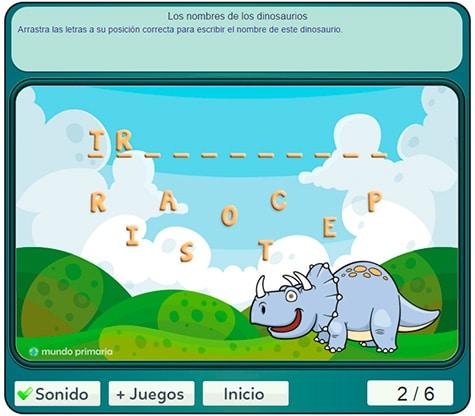 juego-dinosaurios-primaria