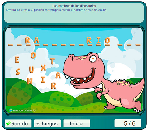 juego-tiranosaurio-rex