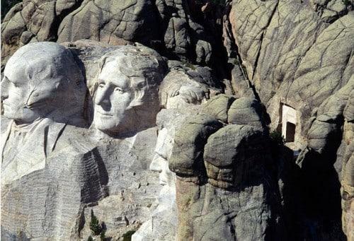 Cámara secreta monte Rushmore.