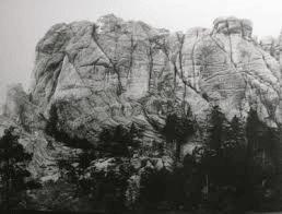 El monte Rushmore original