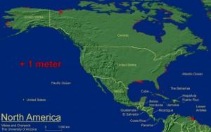 Mapa América del Norte - Rushmore