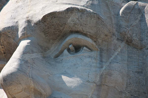 Ojos esculturas rushmore