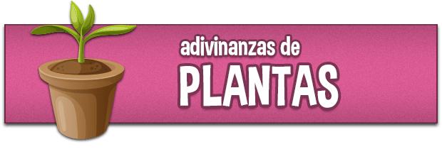 Adivinanzas de plantas