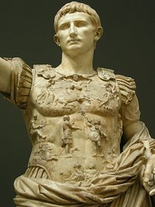 César Augusto emperador acueducto Segovia