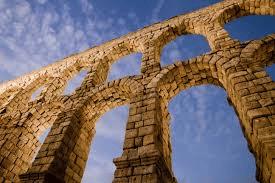 Doble arco acueducto Segovia