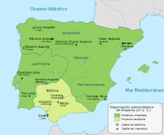 Provincias romanas Hispania Acueducto de Segovia