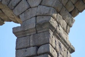 Sillares acueducto de Segovia