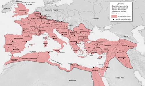 Territorios del Imperio Romano Acueducto de segovia