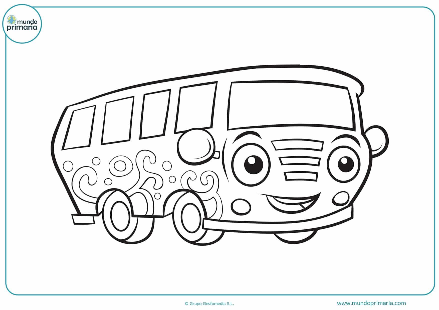 Dibujos carros para colorear