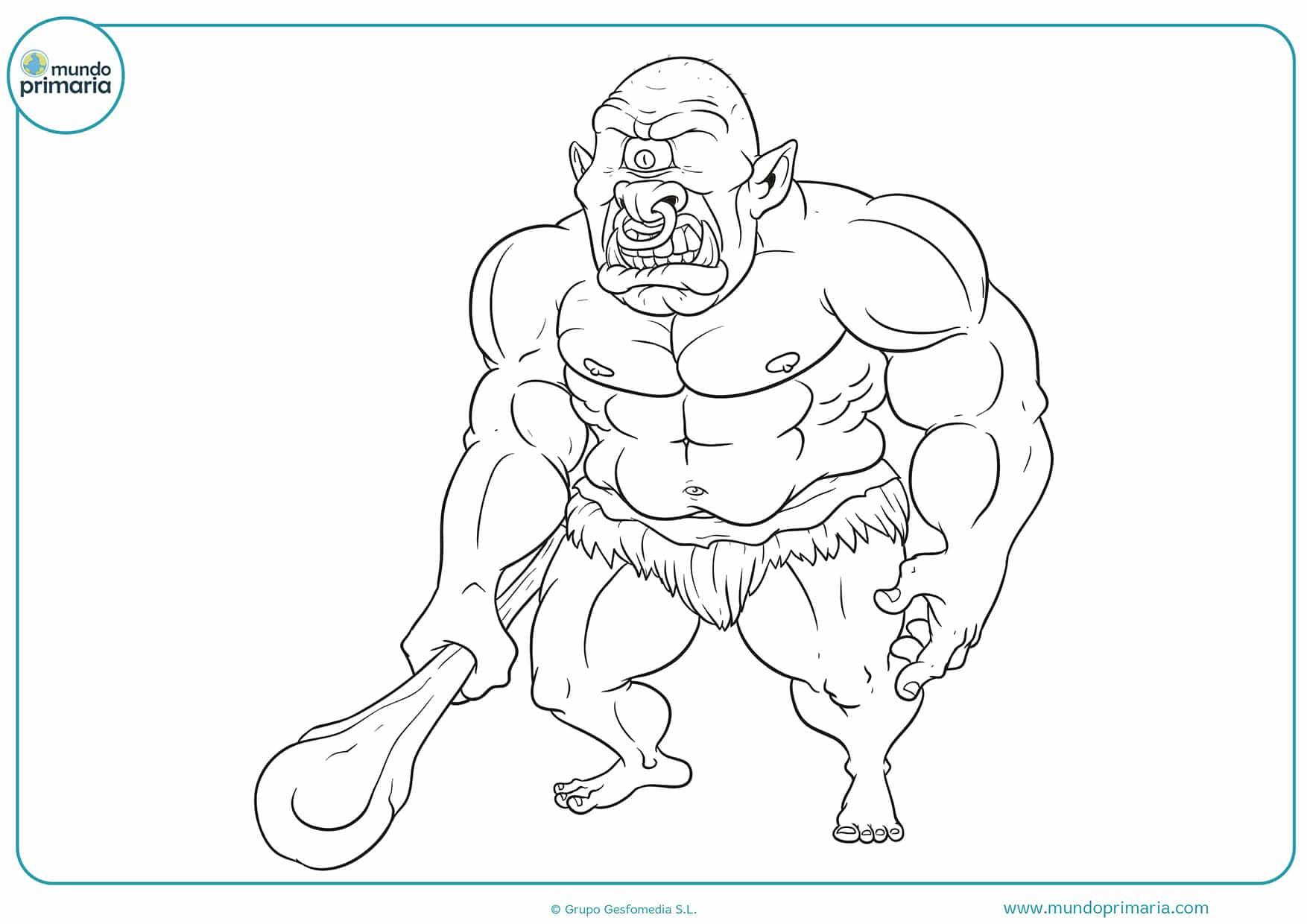 Dibujos colorear monstruos niñas