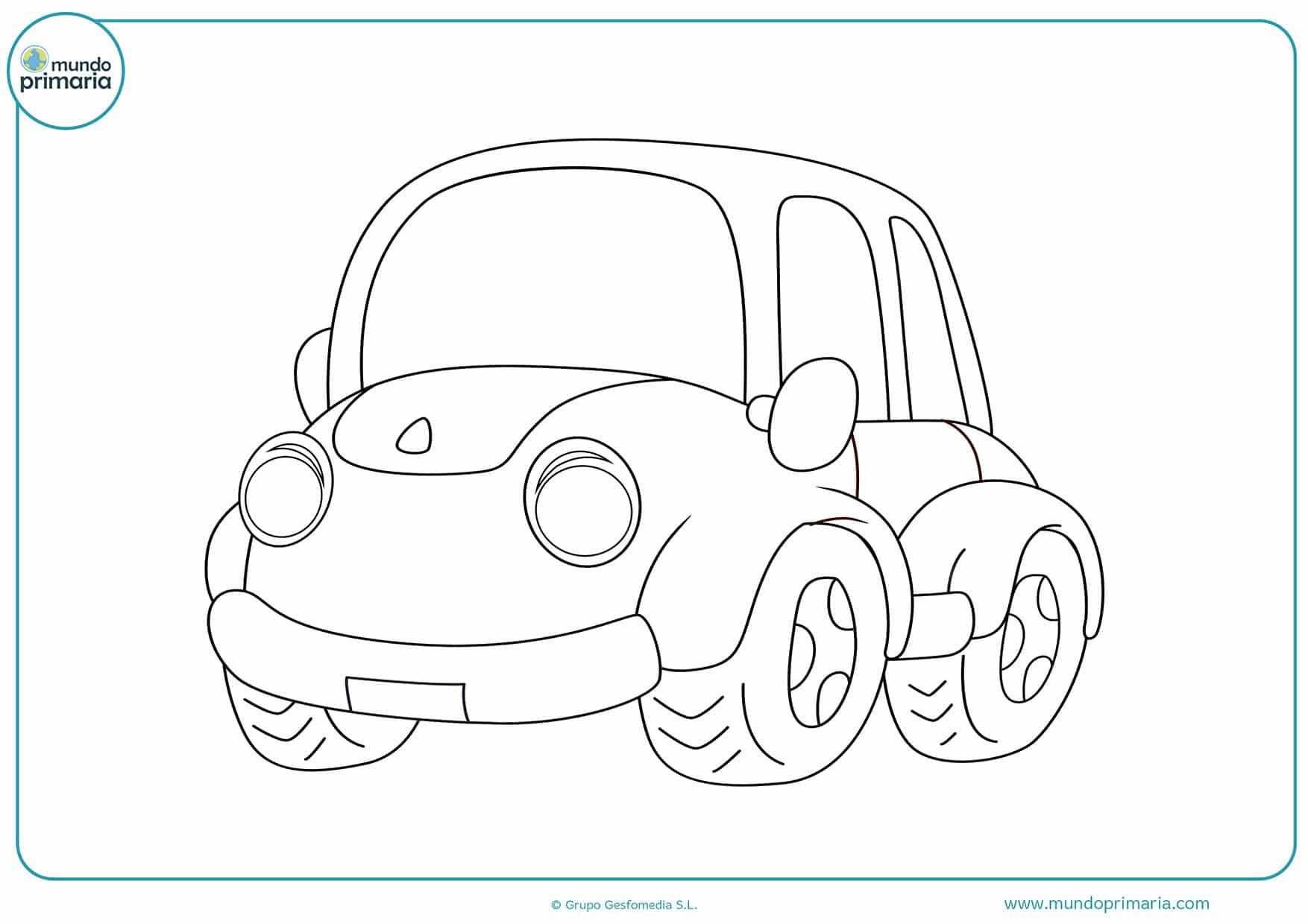 Dibujos coches para dibujar