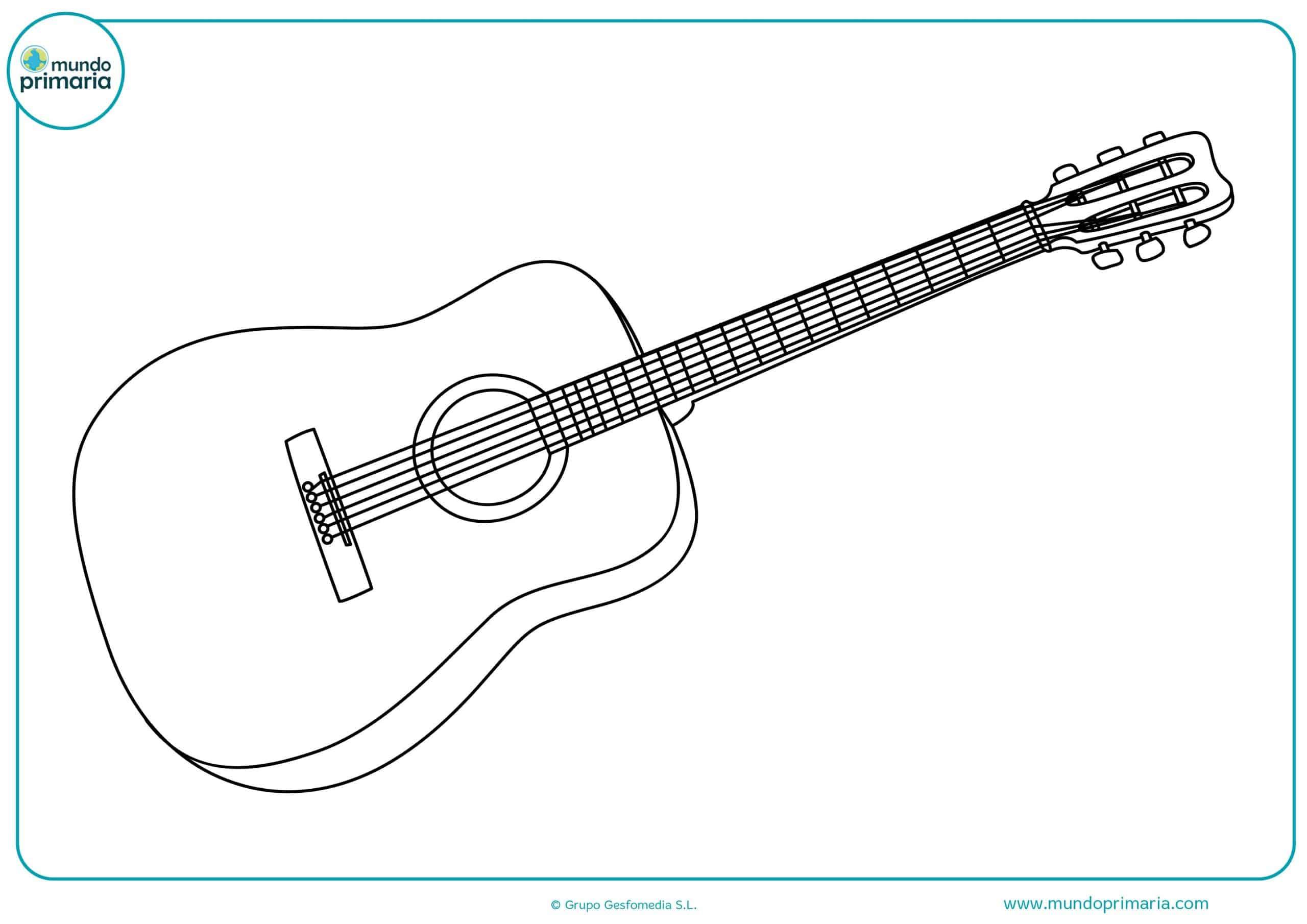 Dibujos de instrumentos musicales para dibujar
