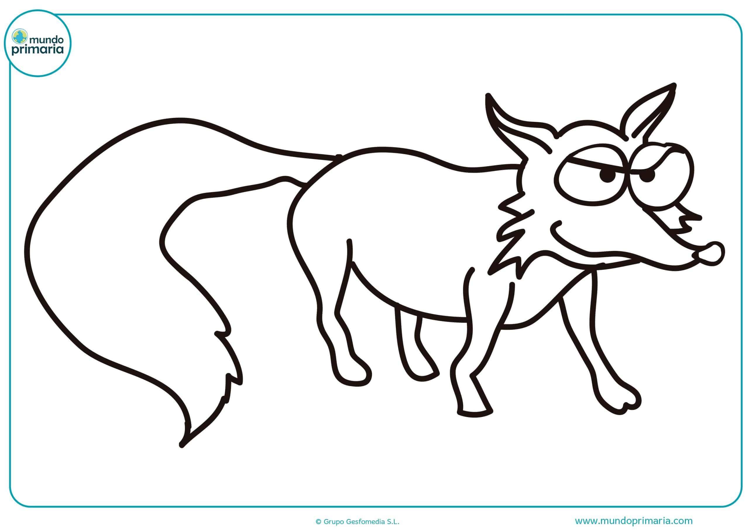 Dibujos para colorear animales de selva infantiles