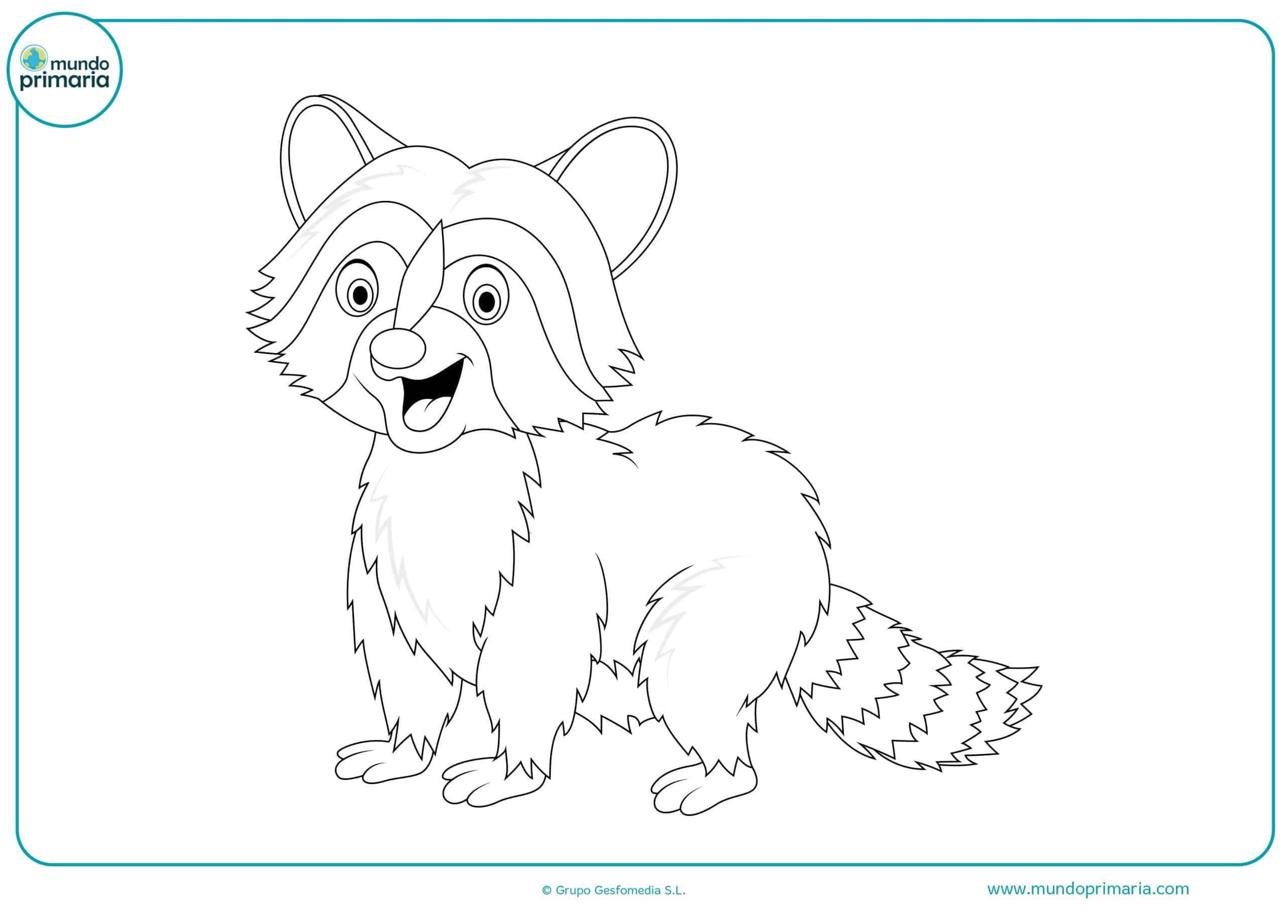 Descargar dibujos animales de bosque colorear