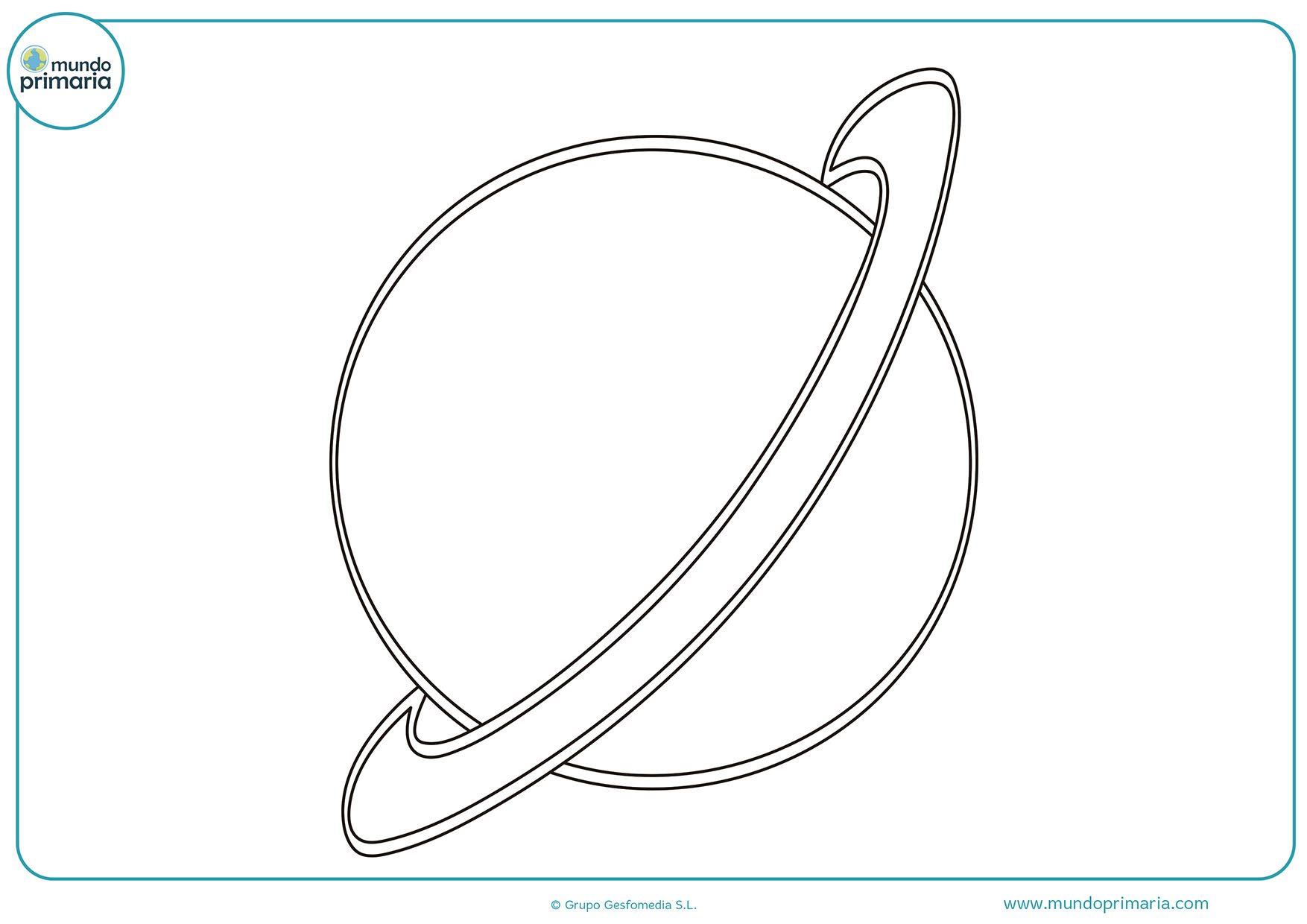 Colorear dibujos planetas