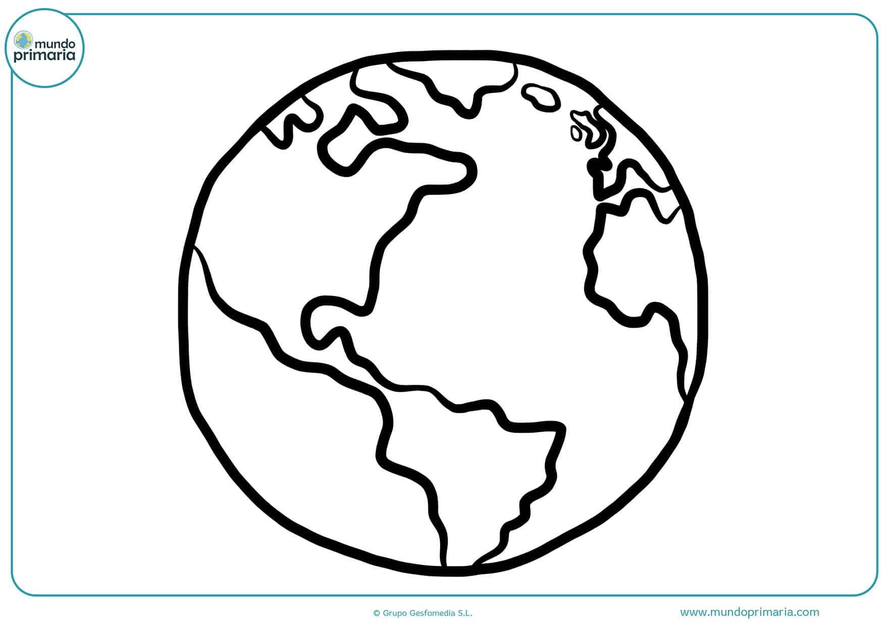 Colorear planetas dibujos primaria