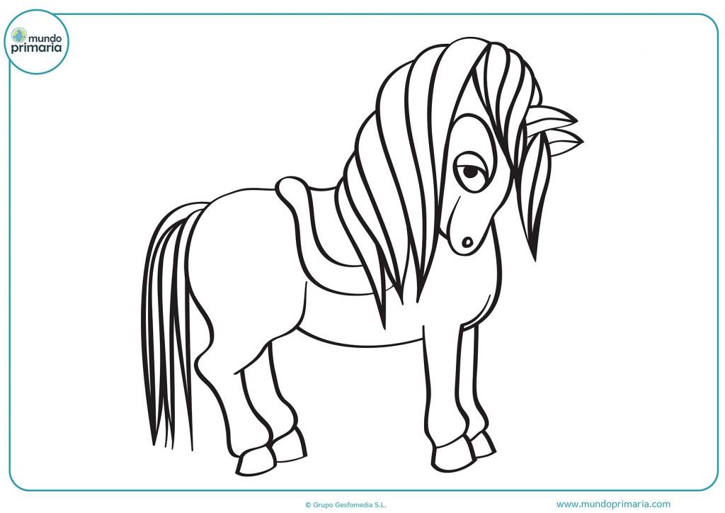 Descarga y colorea el dibujo del unicornio