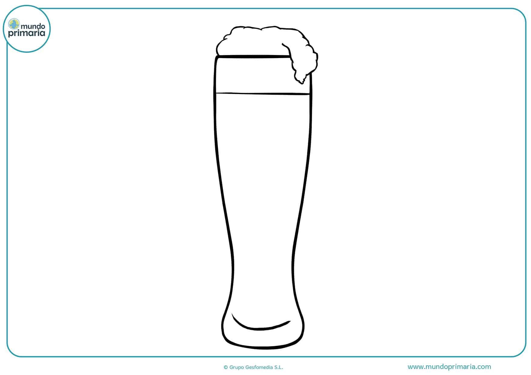 Imprimir dibujos bebidas colorear