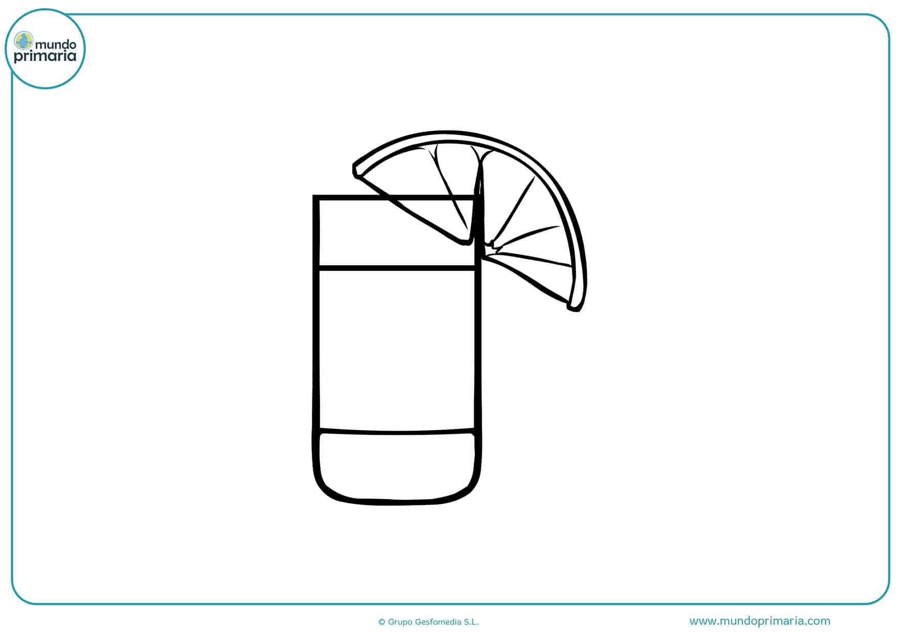 Dibujos bebidas para niños y niñas
