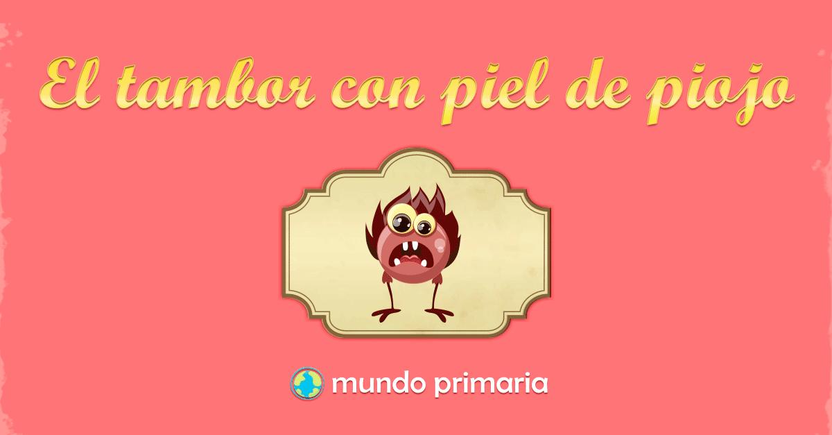 Imagenes De Piojos Animados: El Tambor De Piel De Piojo