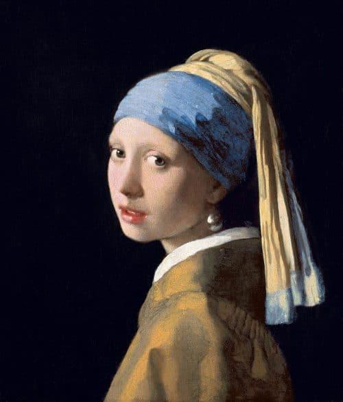La joven de la perla - Vermeer