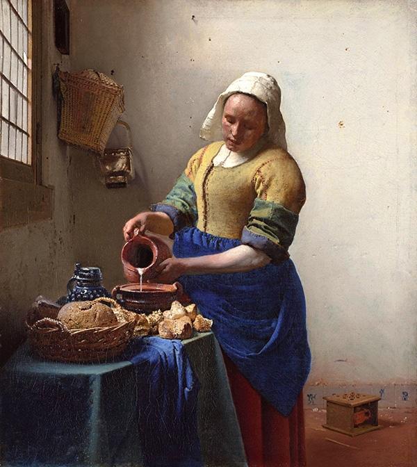 La-lechera-Vermeer-1661-La-joven-de-la-perla