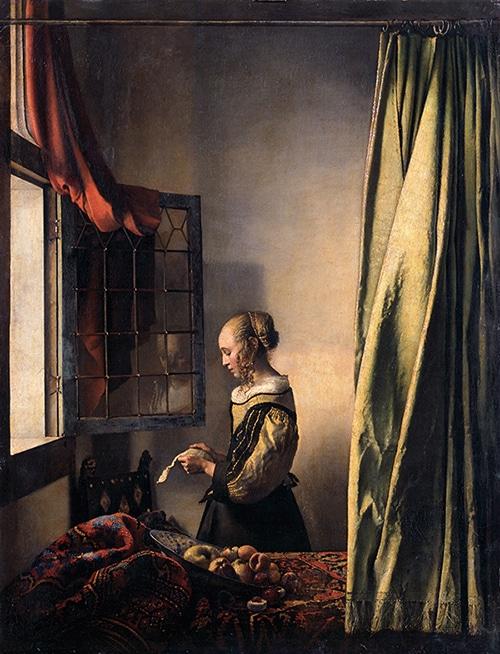 Muchacha-leyendo-una-carta-Vermeer-La-joven-de-la-perla
