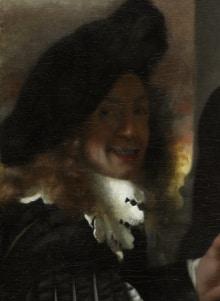 Posible autorretrato de Vermeer de Delft - 1656 - La joven de la perla