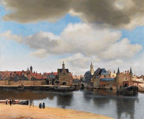 Vista de Delft - Vermeer