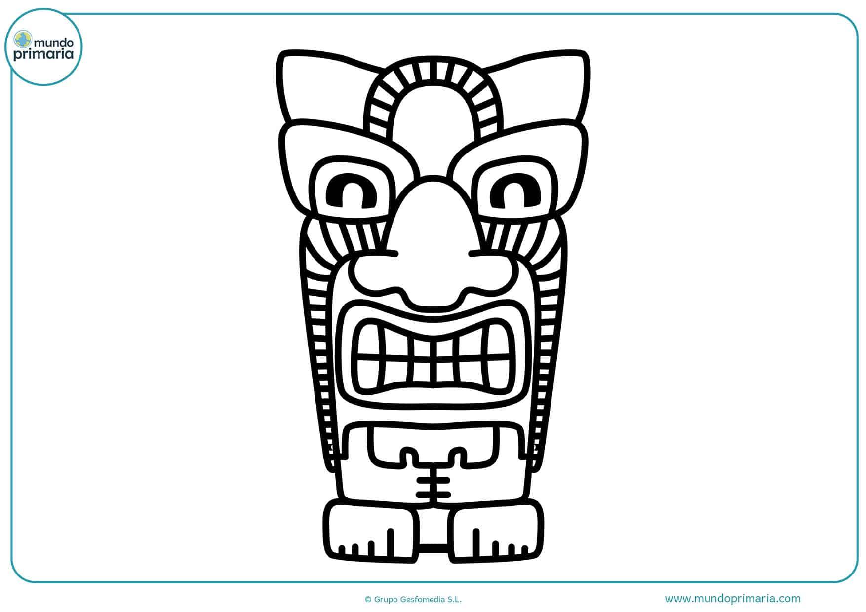Dibujos cultura colorear para imprimir
