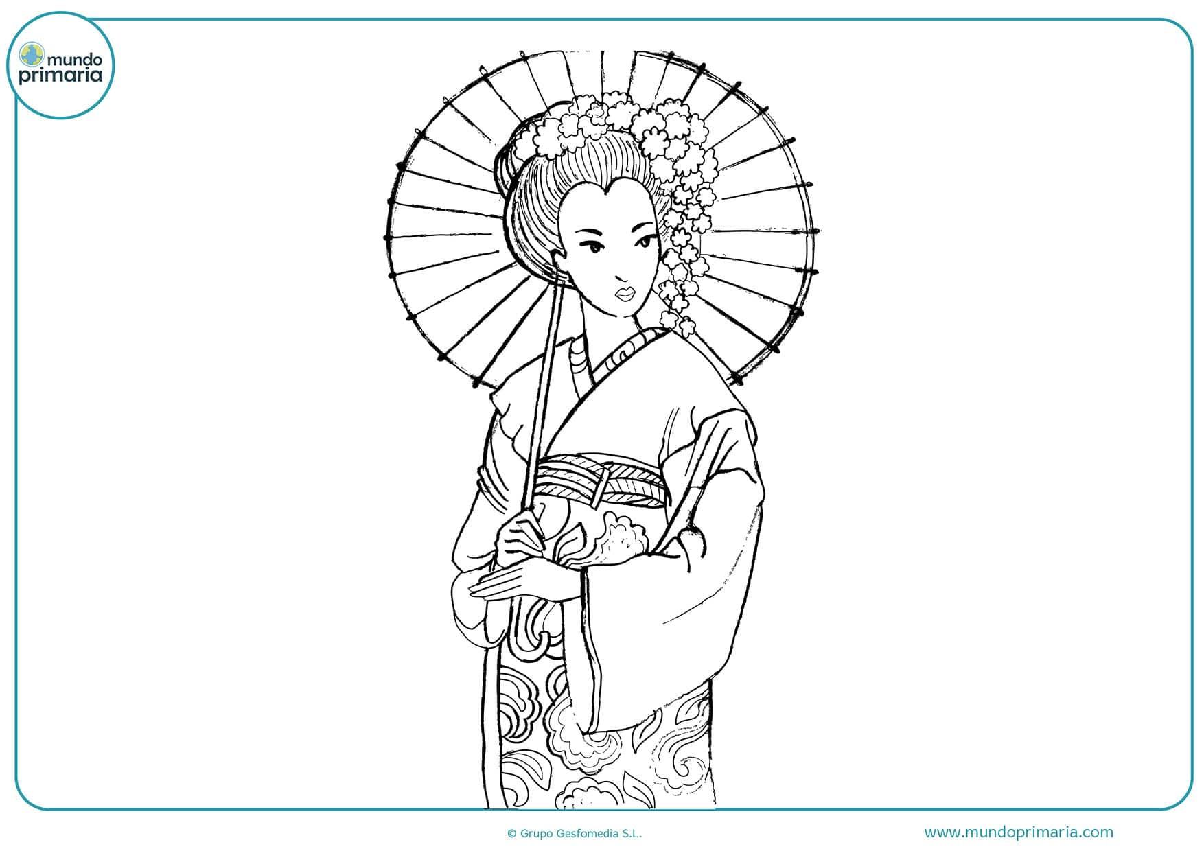 Dibujos Varios Para Colorear: Dibujos De Las Culturas Del Mundo Para Colorear