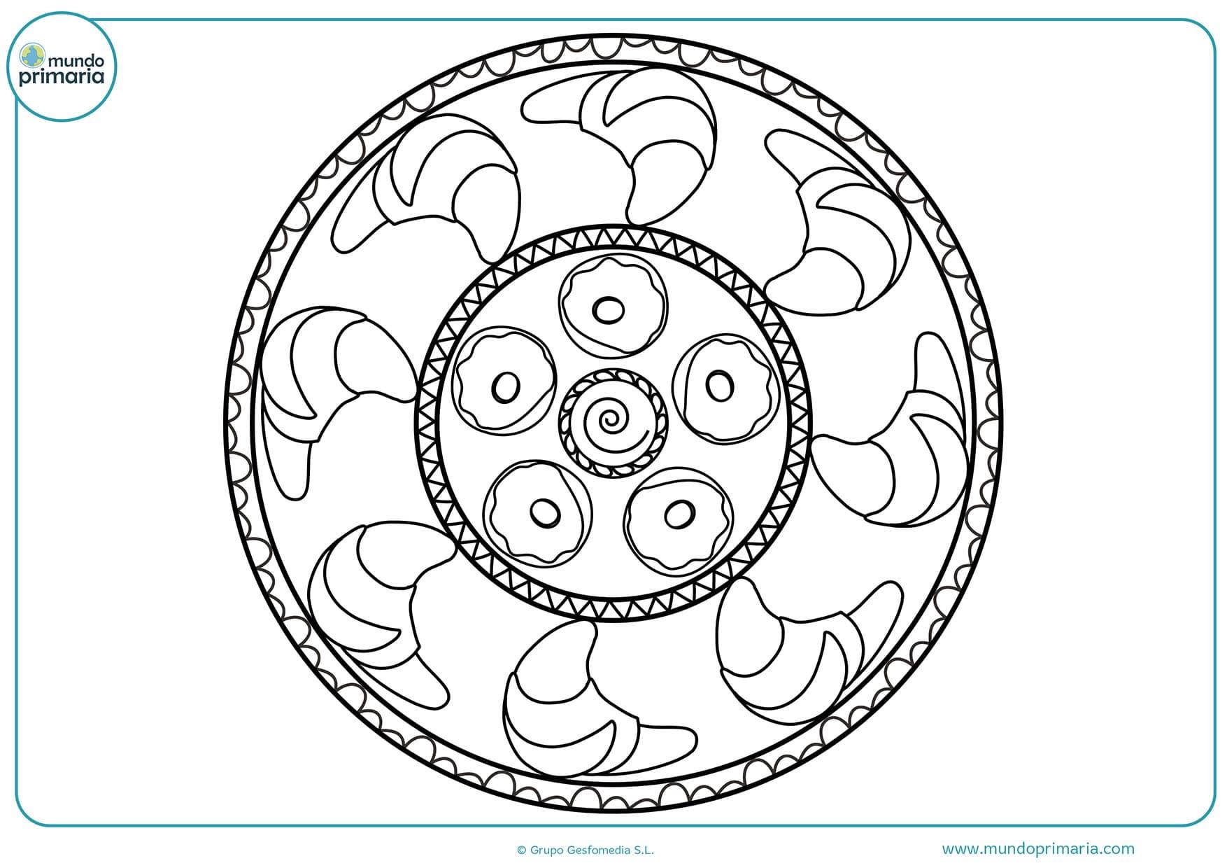 Dibujos De Mandalas Para Colorear Para Niños